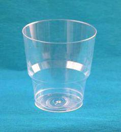 Стакан 200мл прозрачный Кристалл