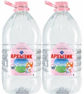 Вода Архызик 2 бутыли по 5 литров